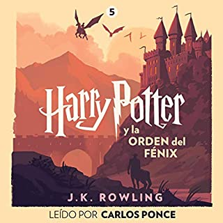 Harry Potter y la Orden del Fénix (Harry Potter 5) audiobook cover art