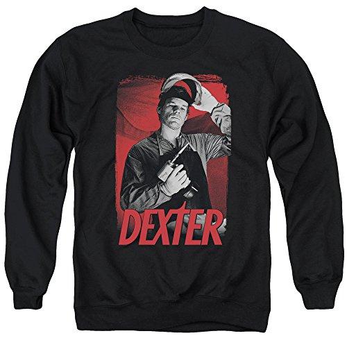 Dexter Herren Pullover See Saw Gr. XL, Schwarz