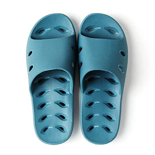 Zapatos de Playa y Piscina Zapatillas de ducha secas Rápidamente desodorantes zapatillas zapatillas para mujer Deslizamiento antideslizante Zapatillas para interiores Dormitorio en casa Piscina Spa Gu