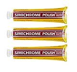 Simichrome Polish 1.76oz 50 Grams Tube (3-Pack)