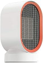 LHZHG Calefactor Portátil Eléctrico, Cerámico 600W Mini Ventilador de Calefactor de Espacio, 2 Configuraciones de Temperatura, Doble Protección de Seguridad, para Hogar y Oficina