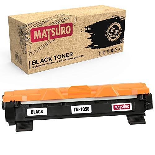 Matsuro Originale | Compatibili Cartuccia Del Toner Sostituire Per BROTHER TN-1050 (1 NERO)