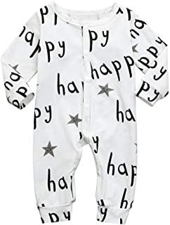 ea3a64d7b432 Toraway- Baby Romper Jumpsuit for 0-24 Months Newborn Long Sleeve Playsuit  One Piece