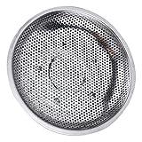 Yardwe - Cestino a vapore per verdure, in acciaio inox, rotondo, per fornello a vapore, multifunzione, diametro 28,5 cm