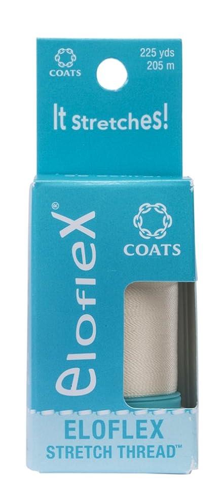 Coats Eloflex Stretch Thread, Natural abbwdkrew7203