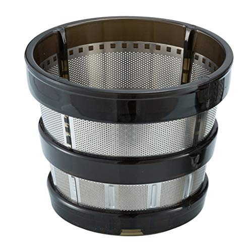 Guangzhou Entsafter Filter Ersatzteile Grobsieb Feinnetz Ersatz für Hurom HH-SBF11 HU-19SGM Mixer Entsafter Filter Ersatzteile Schwarz + Silber