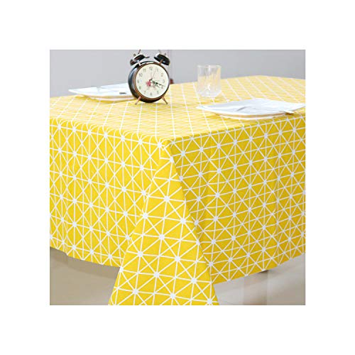 KenFandy GeoTable Partido Mantel Mantel de Tela de Boda paño de Tabla para el hogar decoración de la Tabla de Mantel Textiles para el hogar, Color F, 80 * 120cm
