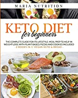 Keto diet for Beginners: 2 books in 1: Vegan Keto + Keto Bread. The complete guide for the ketogenic lifestyle. Low carb meal prep to weight loss, plant- based, pizzas, and cookies included.