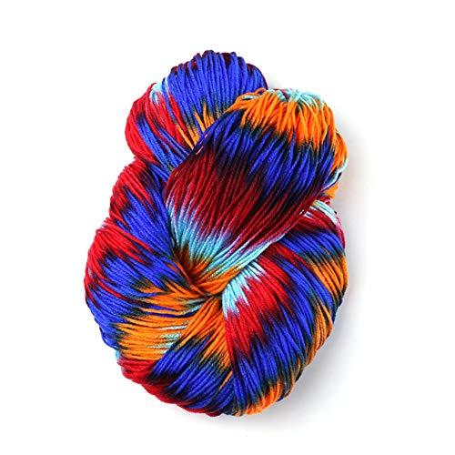 250g Wollgarn Acrylgarn zum Stricken Häkeln Verschiedene Farben Wollgarn zum Stricken Häkeln