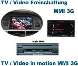 8K0998068A KIMISS Perilla de Control del Coche 3PCS bot/ón de Joystick Multimedia para Audi A4 2009-2013 A5 2008-2015 A6 2005-2011 A8 2004-2007 Q5 2009-2014 pl/ástico ABS Negro
