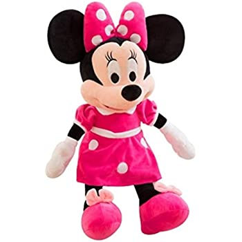 Wonderland Toys Kid's Boy's and Girl's Plush Minnie Mouse Soft Toy (Red, 35 cm)