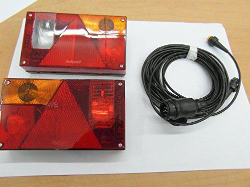Aspöck AVB Rücklichtpaket Multipoint 1 mit RFS und NSL Kabel 13 Pol. 5 m