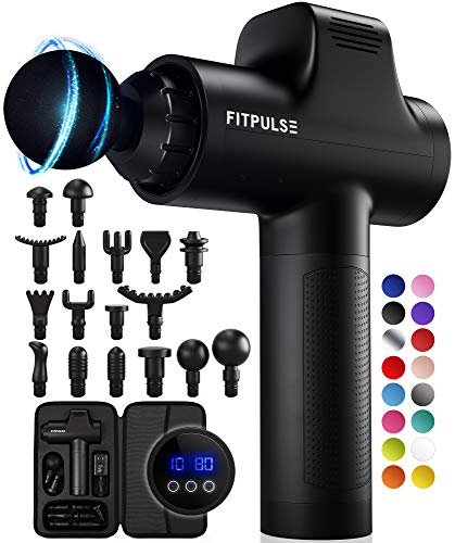 FITPULSE Muscle Massage Gun for Athletes - Percussion Massager Deep Tissue Massager...