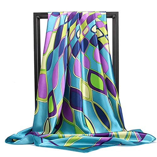 Ecroon Sciarpa stole peso leggero Scialle da Donna Elegante Calda Stole Sensazione di seta Sciarpes Fazzoletti da collo