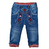 BONDI Mädchen Trachten Jeans Trachtenhose (86)