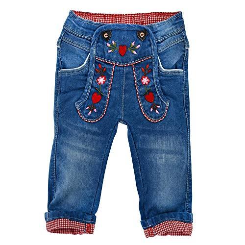 BONDI Mädchen Trachten Jeans Trachtenhose (92)