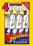 Zafferano 3 CUOCHI - 0,60 g - 4 bustine da 0,15 g