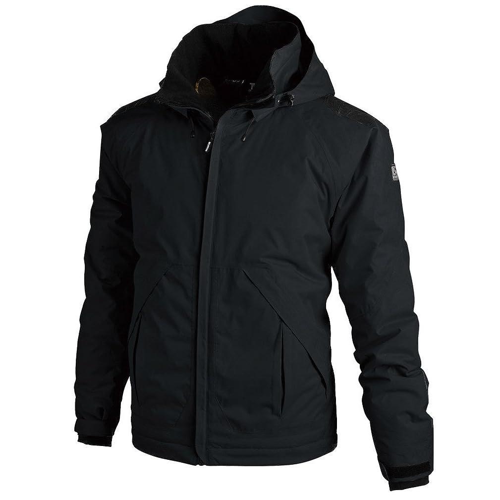 ウォルターカニンガム調和のとれたギャザー藤和 TS DESIGN メガヒート防水防寒ジャケット L ブラック 18226