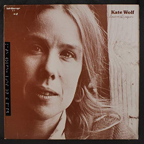 KATE WOLF lines on the paper KALEIDOSCOPE 7 (LP vinyl record)