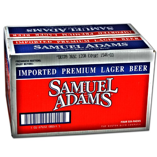 Samuel Adams Boston Lager 24er (Flaschen)
