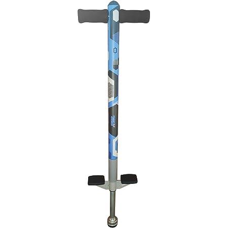 Think Gizmos Pogo Stick - Aero Advantage - per Bambini di 5,6,7,8,9,10 Anni o Fino a 36kg di Peso - qualità Eccezionale - Divertimento all'Aria Aperta Pogo Stick per Ragazzi e Ragazze (Blu e Nero)