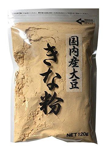角屋米穀 国内産大豆きな粉 120g×5個