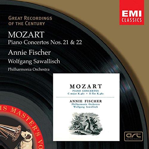 Mozart - Piano Concertos Nos. 21 & 22 (Klavierkonzerte) / A. Fischer · PO · Sawallisch