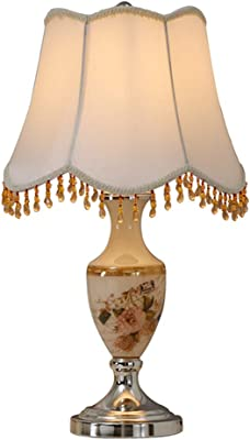 SNDJBD KJZhu Lámpara de Mesa de Vidrio, Sala de Estar Dormitorio ...