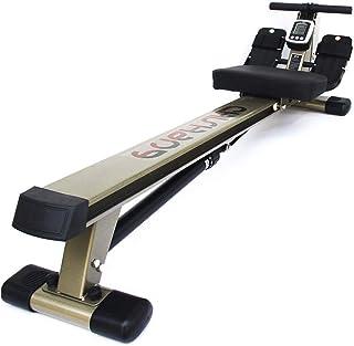 Rowing Machine,Back Exercise Rowing Machine Hydraulic Resistance Seated Rowing Machine Folding Multifunctional Mute Fitnes...