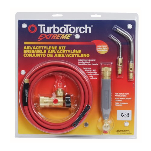 Thermadyne TurboTorch 0386-0335 X-3B Air Acetylene Torch Outfit