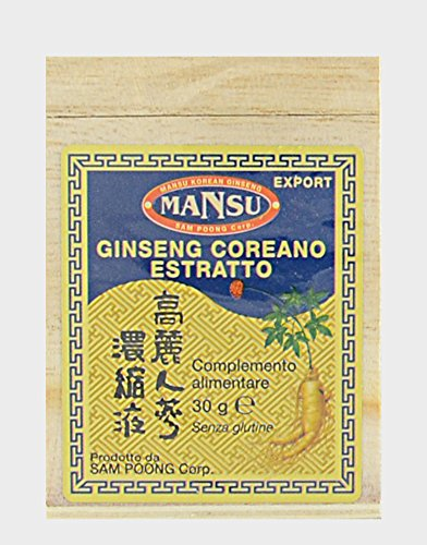Mansu Ginseng Coreano Estratto Molle 100{22d7d5d33cd25a5f709749b159b429f62202ded238f970622d196b3c71f66a64} Puro