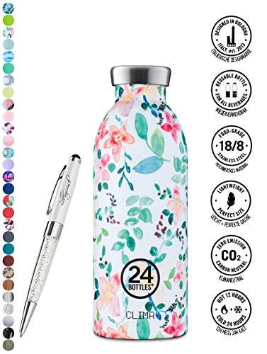 24 Bottles Bottiglia Clima 330 ml | 500 ml | 850 ml colori diversi 12h cold 24h hot, Contenuto:500 ml, Colore:Little Buds