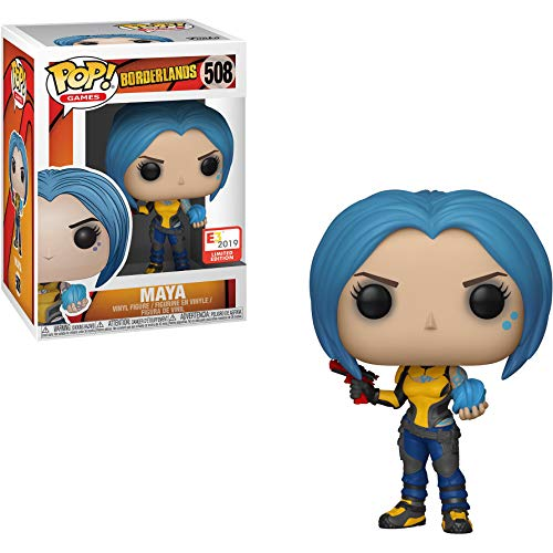 Maya (E3 2019 Exc): Fun ko Pop! Games Vinyl Figure & 1 Compatible Graphic Protector Bundle (508 - 39577 - B)