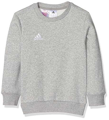 adidas Kinder Sweatshirt Coref swt to y, medium grau heather/Weiß, 140, S22333