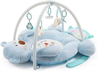 ベビーミュージックマット、フィットネスラック、0〜1歳の赤ちゃん、音楽ゲーム用毛布、多機能幼児向け教育玩具。