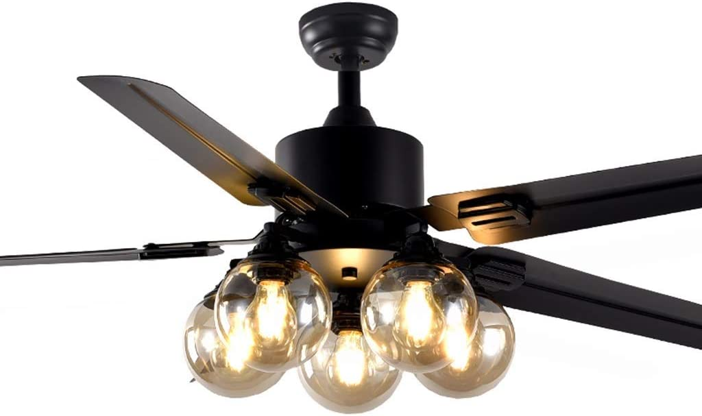 WULOVEMI Ceiling Fan NEW before selling with Light Blade Iron Lowest price challenge 4 Lights