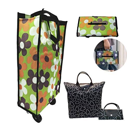 shopping trolley bag on wheels - 6