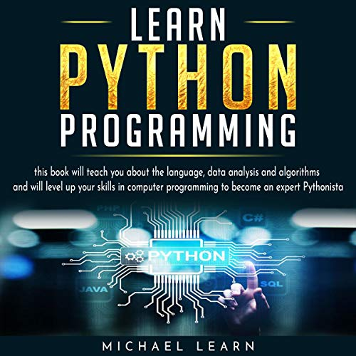 Learn Python Programming audiobook cover art