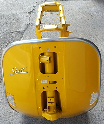 LML STAR 125 cc 4T TELAIO nuovo con ducumenti - COLORE: GIALLO