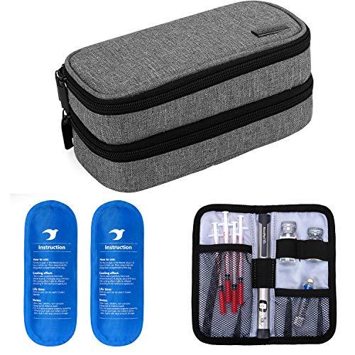 51MeKFtLRiL. SL500  - Small Protective Diabetic Travel Case