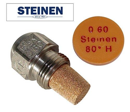 80 Grad Spritzwinkel 1,2 mm /Ölbrennerd/üse /Öld/üse Vollkegel 30 45 60