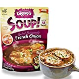 Cugino's French Onion Soup Mix, 6 Pack, Traditional Baked Burgundy Homemade Taste with Fresh Herbs...