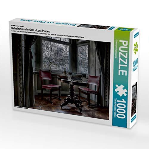 CALVENDO Puzzle Geheimnisvolle Orte - Lost Places 1000 Teile Lege-Größe 64 x 48 cm Foto-Puzzle Bild von Eleonore Swierczyna
