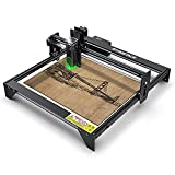 ATOMSTACK Laser Engraver, A5 20W Laser Engraving Cutting Machine CNC, 4.5W-5W Output Power, Upgraded Precise Fixed-Focus Machine, Eye-Protection Design, DIY Laser Marking formWood, Leather, Vinyl