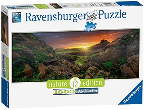 Ravensburger Puzzle 15094 - Sonne über Island - 1000 Teile