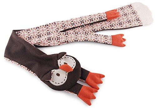 ALL FOR PAWS 31240/3589 Hundespielzeug Eule ohne Füllung Vintage Pet - Giant Flattie Owl 97 x 13 x 2 cm