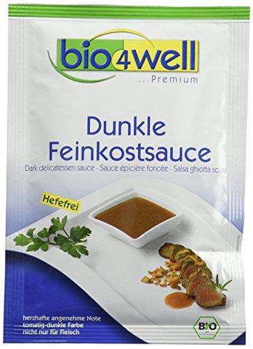 bio4well Bio Feinkostsauce dunkel, hefefrei, 10er Pack (10 x 25 g)