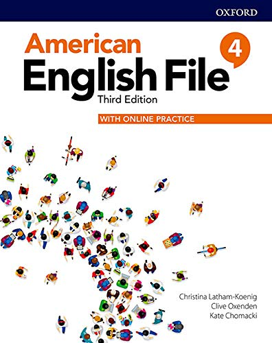 American English File: Level 4: Student Book With Online Practice