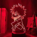 3D Anime Lamp,,My Hero Academia Dabi Led Light for Bedroom Decor Cool Manga Gift for Him Colorful Night Light Dabi, Christmas Gift Omtz.Yao