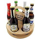 Unbekannt Der Holz-Bier-Träger für Feierfreunde mit Ihrer Personalisierung - Das Geschenk zum Vatertag